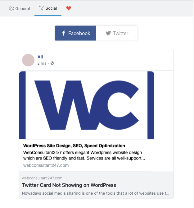 Why Twitter Card Not Showing on WordPress? 2